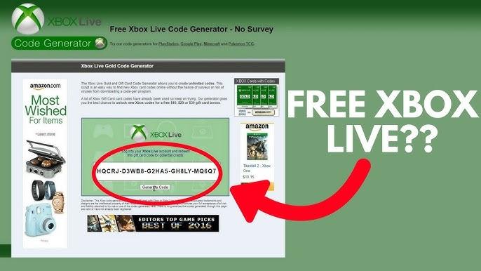 Codes xbox free no surveys live Home