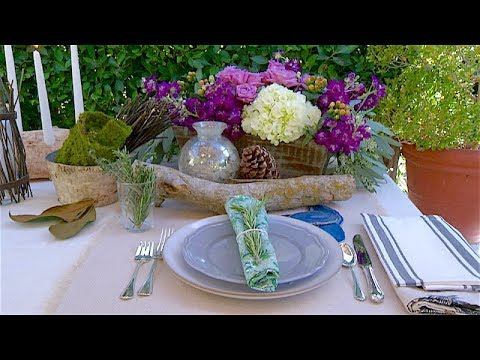 Tablescaping with Ragan Wallake
