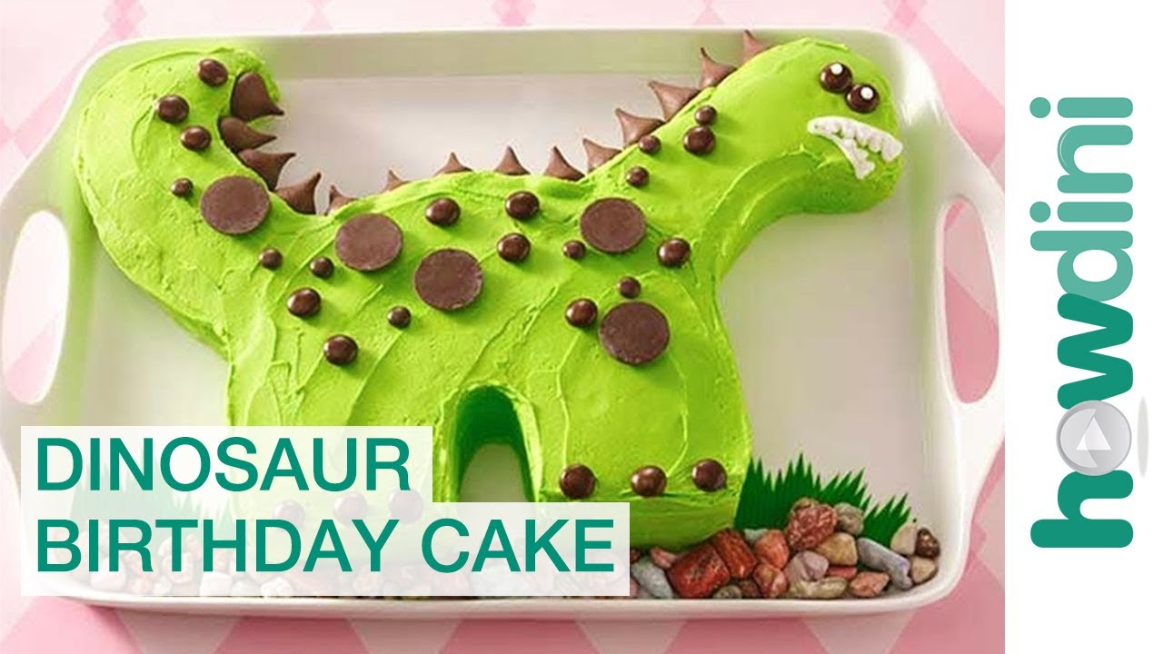 Dinosaur Cake Accessories : Birthday Cake Ideas: Dinosaur Birthday Cake Decorating ...