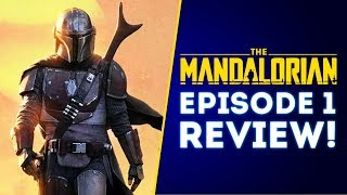 The Mandalorian Episode 1 Review! Spoiler Free! Is It Any Good? | Star Wars The Mandalorian