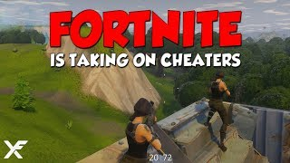 HOW FORTNITE IS TAKING ON CHEATERS - EPIC SUES