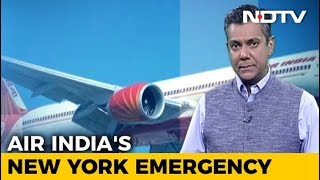 Air India Flight's Crisis Over New York: Chilling Moments On Tape