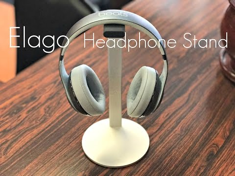 Ultimate Desk Setup Headphone Stand! - Elago H-Stand - Review