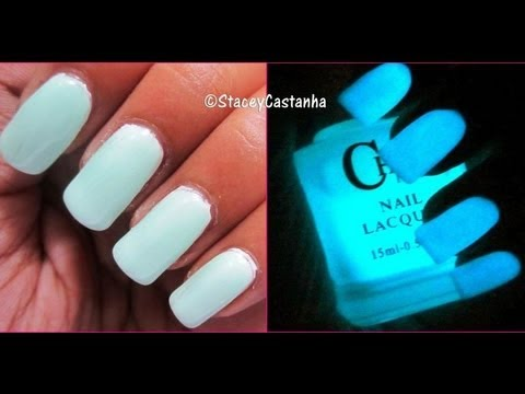 Glow in the Dark Nail Paint? - YouTube