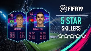 FIFA 19 | ALL 5 STAR SKILLERS