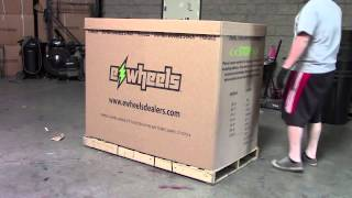 EW36 Mobility Scooter Packaging Shipping