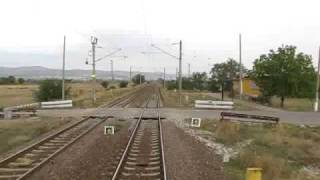 Kaloianovec-Stara Zagora from the locomotive cab