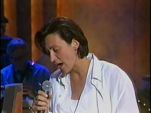 KD Lang performing 'Crying' on Australian TV 'the Midday Show' around 1993