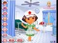 """Dora Cartoon Online Games  """" Dora The Explorer Cartoon Dress Up Game """""""