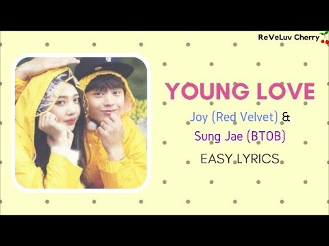 Young Love- Joy & Sung Jae EASY LYRICS