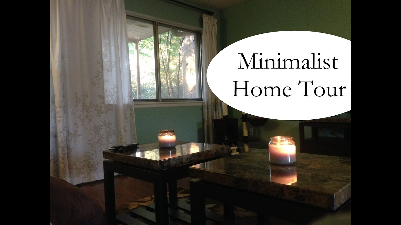 Minimalist home tour 2016 youtube for Minimalist home tour