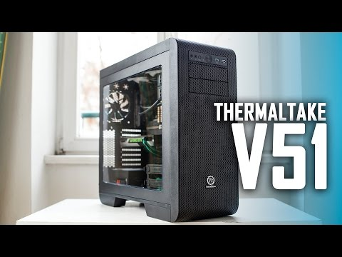 Thermaltake Core V51 Case Review | Almost perfect but not there yet!