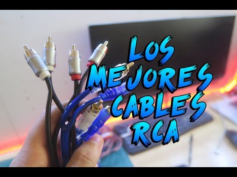 TUS CABLES RCA SON BUENOS ? | CAR AUDIO
