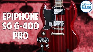 Epiphone SG G-400 Pro Electric Guitar Review