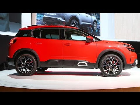 2018 Citroen C5 Aircross Citroen C5 Aircross 2018 Interior Youtube