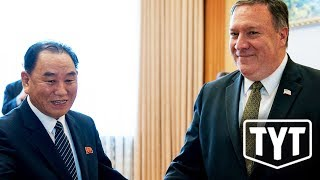WEIRD: North Koreans Keep Asking Pompeo How He Slept thumbnail