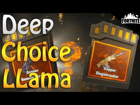 FORTNITE - Deep Choice Llamas, Easy Legendaries, Ninja Skating, C4, Clusterhusk Quests