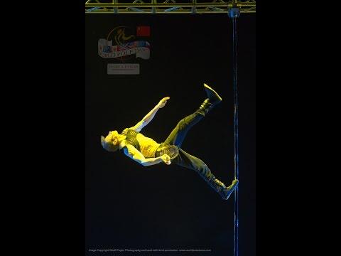 World's Best Pole Dancer WINNER World Pole Championships 2015 Dimitry Politov - RUSSIA
