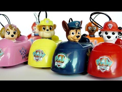 SOBRES SORPRESA DE LA PATRULLA CANINA con juguetes de la Patrulla Canina