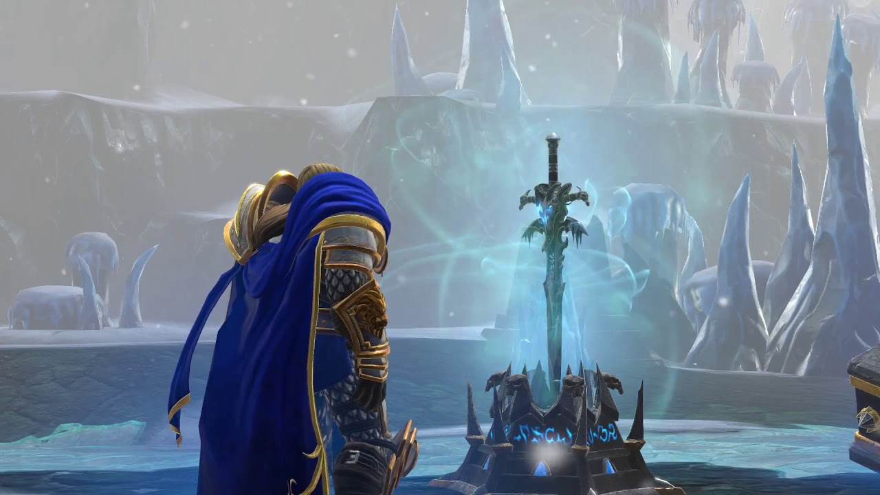 Let's Play Warcraft 3 Reforged Human Campaign Mission 9 - Arthas Reborn