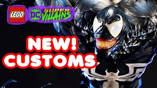 LEGO DC Supervillains Customs! Making Epic LEGO Designs | Blitzwinger