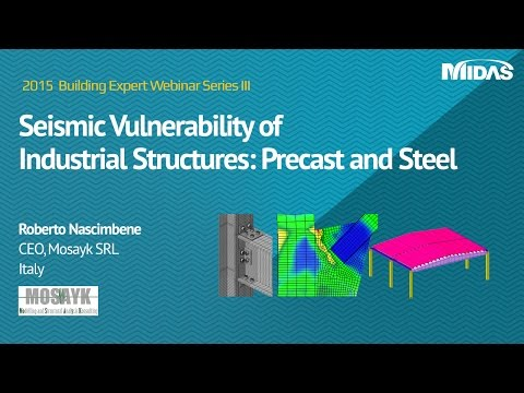 Preview: Seismic Vulnerability of Industrial Structures: Precast and  Steel