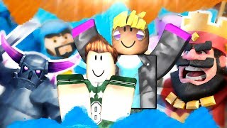 CREATE CLASH ROYALE HALLOWEEN WITH MASSI IN ROBLOX TYCOON