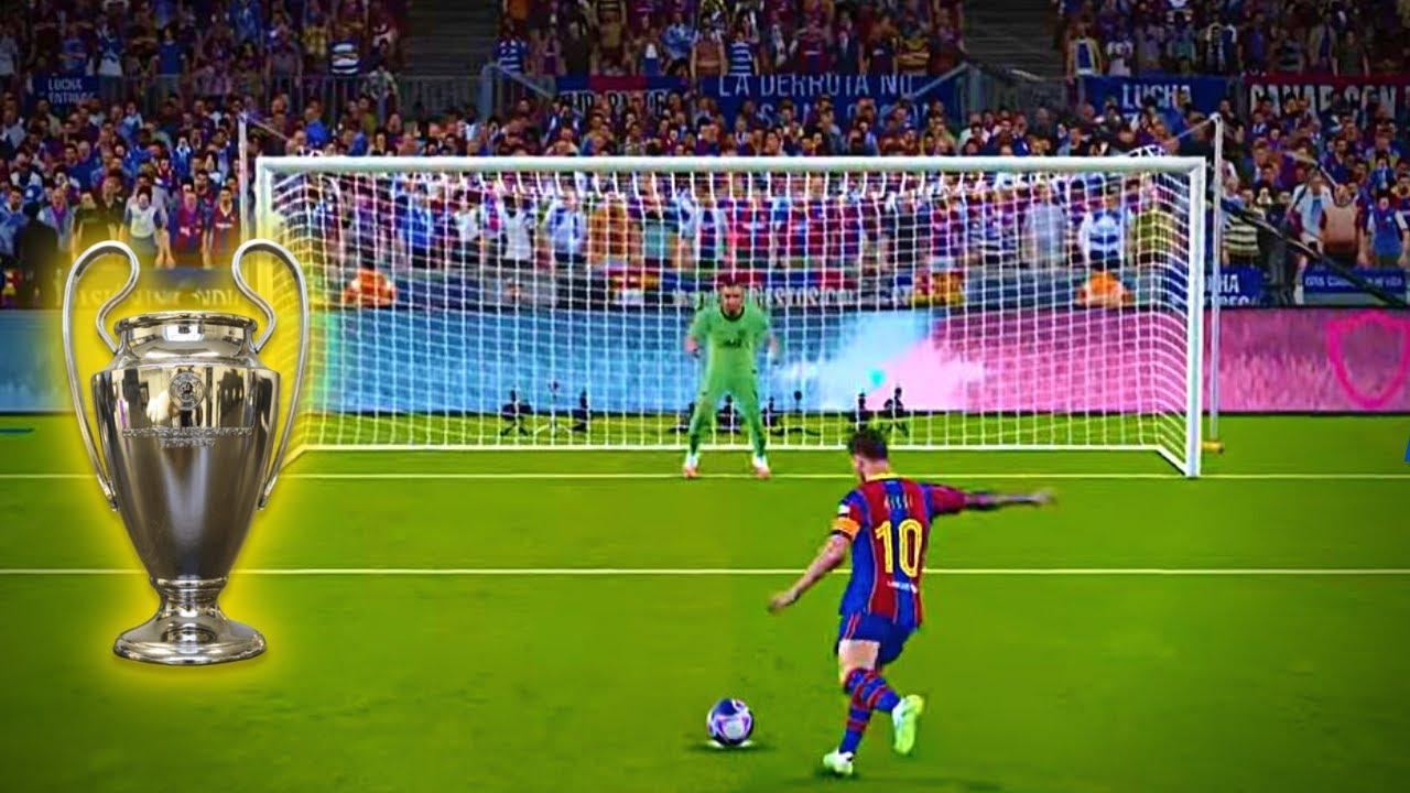 PES 2021 Penalty Shootout | FC BARCELONA VS PSG | PES 21 ...