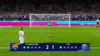 PES 2021 Penalty Shootout | FC BARCELONA VS PSG | PES 21 Penalties