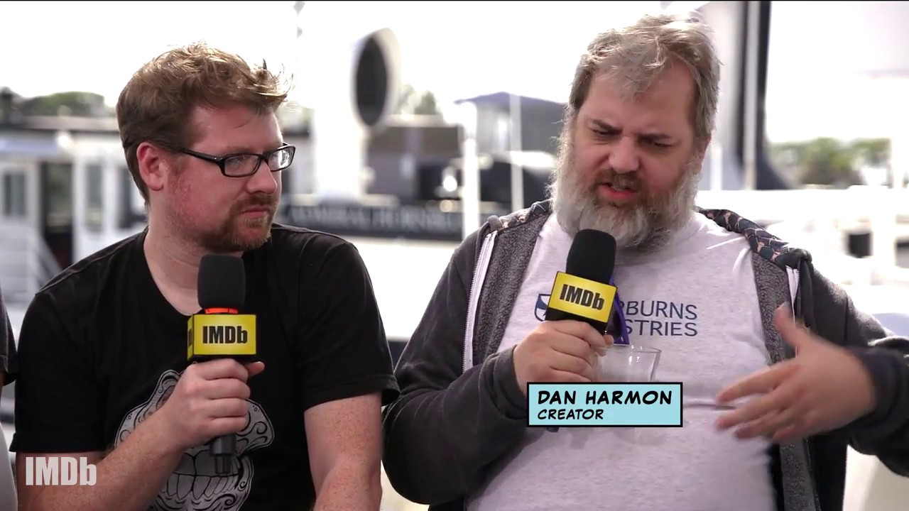 Justin Roiland & Dan Harmon Explain Origin of