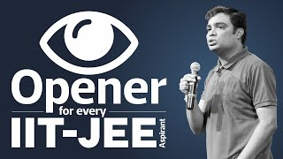 An EYE OPENER for every IIT JEE aspirant by - Prof. Vipin Joshi, A man with National Record