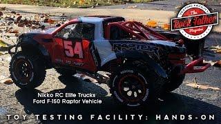 Руки-на: Нікко радіокеровані елітний вантажівок Форд Ф-150 Раптор автомобіля