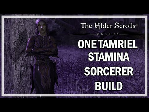 STAMINA SORCERER BUILD One Tamriel - The Elder Scrolls Online Review