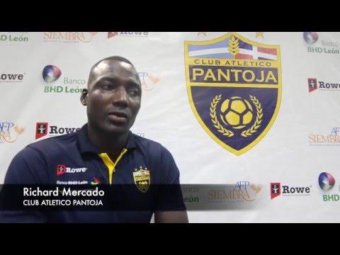 Entrevista delantero ecuatoriano Richard Mercado del Pantoja
