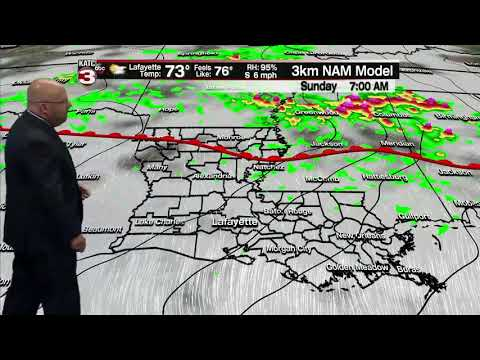 ROB'S WEATHER FORECAST PART 1, 6PM 4/18/2020