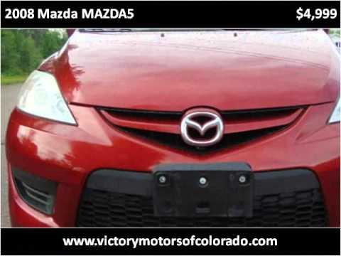 2008 mazda mazda5 used cars longmont co youtube for Victory motors trucks longmont