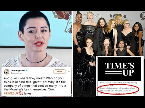 Rose McGowan hits out at 'company of pimps' CAA
