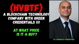 BLOCKCHAIN STOCK WITH 1000X POTENTIAL could TAKE OFF Soon ! || HVBTF DUE DILIGENCE !!! ENTRY PRICE?