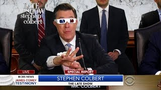 James Comey's Testimony Featuring Stephen Colbert