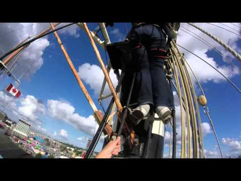Climbing the Mast of the Gulden Leeuw
