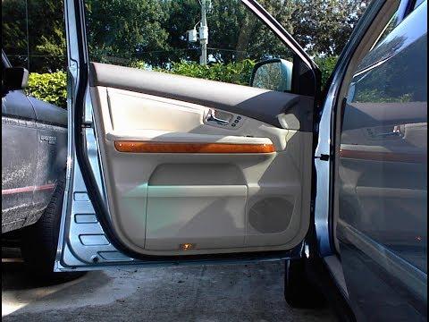 Door Handle Removal Lexus Rx330 Rx350 Rx400h Rear C