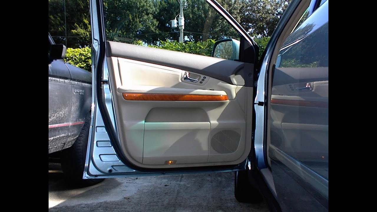 Lexus Rx330 Speaker Removal Front Door Youtube
