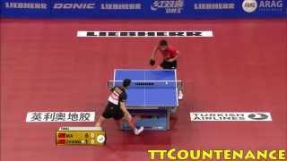 World Cup: Zhang Jike-Ma Long