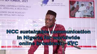 NCC sustainable communication in Nigeria for worldwide online broadcast - EVC
