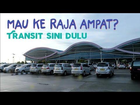 Megahnya Bandar Udara Domine Eduard Osok Sorong Papua Barat
