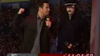 Marilyn Manson - Disposable Teens/Surrender (MTV New Year