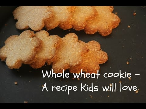 Whole Wheat Oats Cookies -(Kids Recipe)