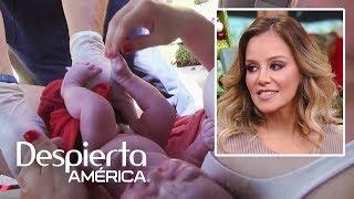 Rosie Rivera muestra el video de cuando su hija nació en un auto | Dr. Juan
