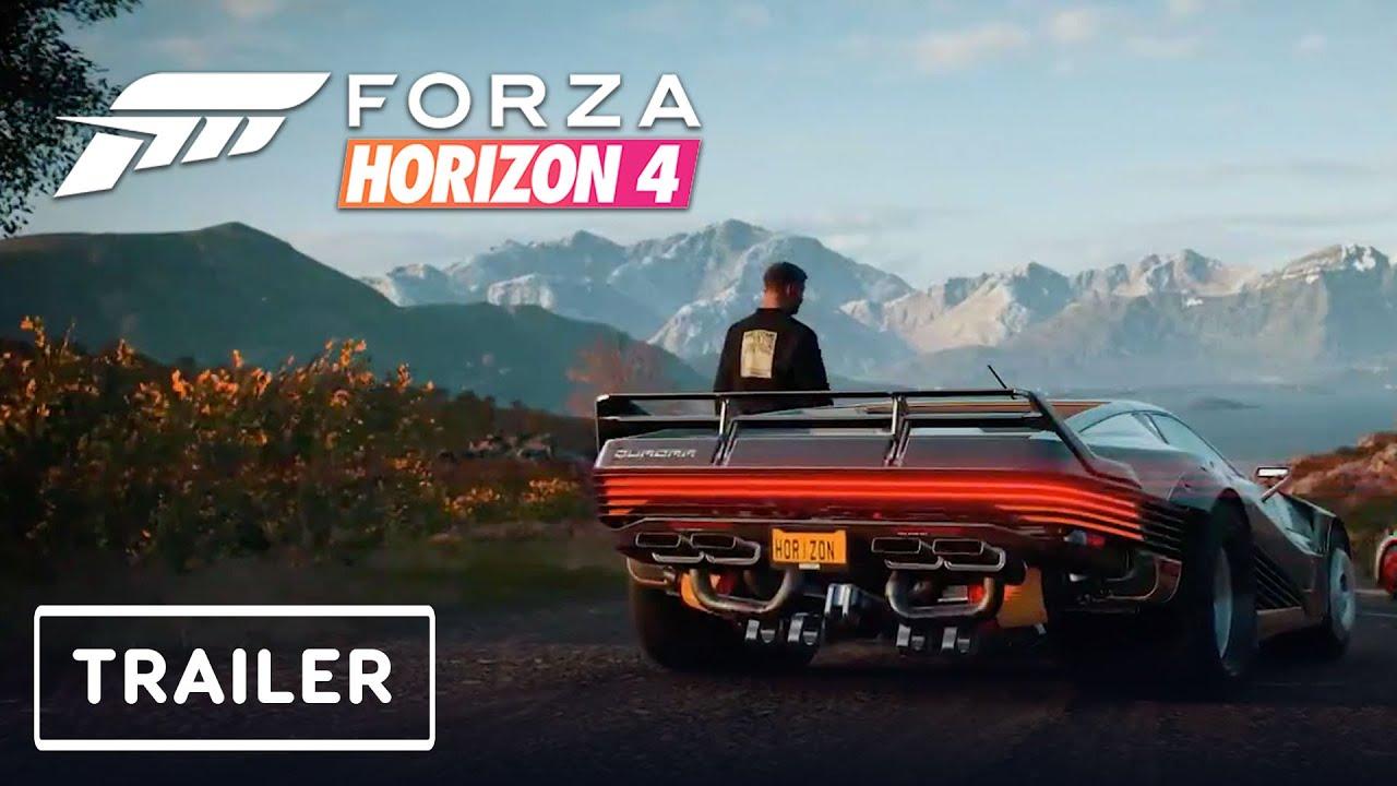 Forza Horizon 4 x Cyberpunk 2077 - DLC Pack Reveal Trailer | Game Awards 2020