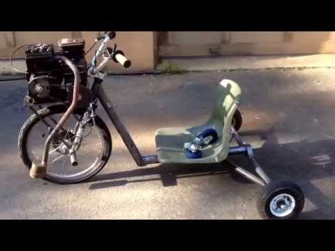 home made chainsaw powered skateboard 30cc funnycat tv. Black Bedroom Furniture Sets. Home Design Ideas